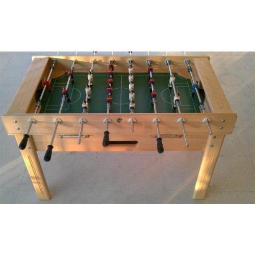 www.mesabillar.es Futbolin modelo MADRID 140x80 cm: Amazon.es ...