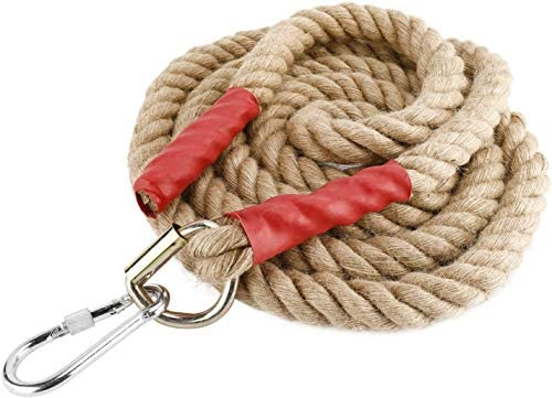 YaeMarine Heavy Duty 10 FT Gym Climbing Ropes with Locking Device for Adult Improve Grip and product image