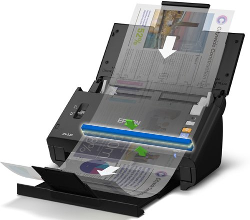 Epson WorkForce DS-520 Sheet-Fed Color Document Scanner for PC & MAC, Auto Document Feeder (ADF) & Duplex (B11B234201) Photo #2