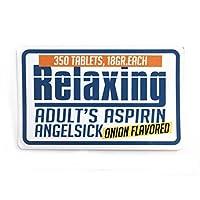アメカジ ステッカー Relaxing シール Sticker 防水