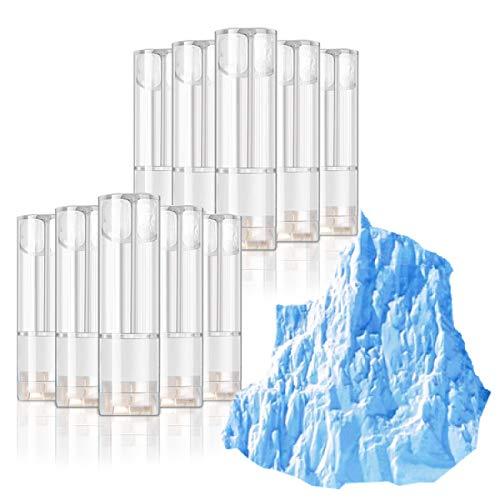 プルームテックプラス X-Vapor プラス 互換 カートリッジ 10本セット 9フレーバー アクセサリ Ploom tech + プルーム テック プラス リキッド カプセル 互換 充填済み 使い捨て (ディープアイス)