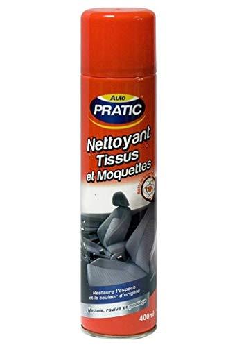 Auto Pratic Limpiador de telas y alfombras y revive protege 400 ml (paquete de 3)