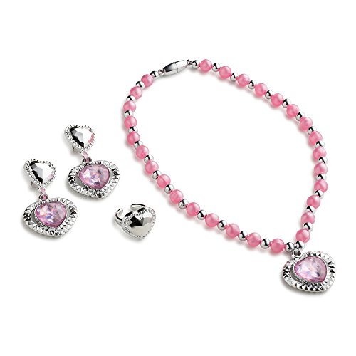 Dress Up America Pink Jewelry Set for Girls which Contains Princess Bangle Bracelet