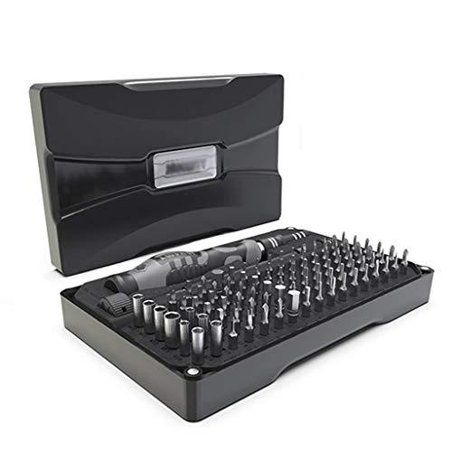 ZZABC LUSDTJGJ Destornillador Establecer Precision CR-V Destornillador bit bits Magnético 106 en 1 Reparación de Dispositivos electrónicos PC Teléfono Herramientas de Mano