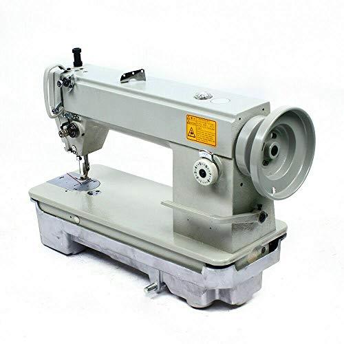 Kaibrite Máquina de coser automática, brazo libre, 7 mm, accesorios automáticos, algodón, lonas de piel, vaqueros SM6-9, para principiantes, 3000 S.P.M, 35 kg/29 kg