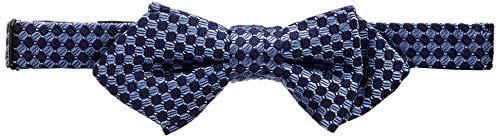 Tommy Hilfiger Jungen Dg Silk Micro Design Bowtie Krawatte, Blau (Blue 0Yj), One size