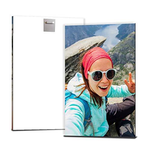 wandmotiv24 Ihr Foto auf Aluminium 20 x 30 cm (BxH) - Hochformat - Aluminium SOFORT ONLINE VORSCHAU, personalisiertes Wandbild, Blechschild Metall, Foto gestalten, personalisierte Foto-Geschenke