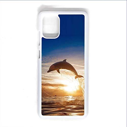 Babu Building Teléfono Shell Abs Hombres Embellecer Impresión Dolphin Usar para S20 Ultra