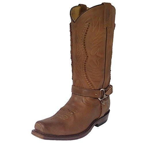 Rancho Biker Boots 1562, Farbe:nb beige;Größe:44