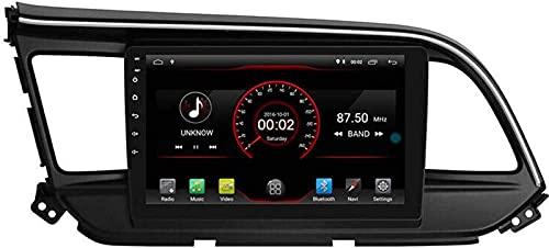 WJYCGFKJ Android 10 Lettore Dvd per Auto GPS Stereo Head Unit Navi Radio Multimedia WiFi per Hyundai Elantra Avante 2019 2020 Supporto per Il Controllo del Volante