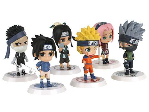 CoolChange Set de Figuras en Forma de Personajes de Naruto 5