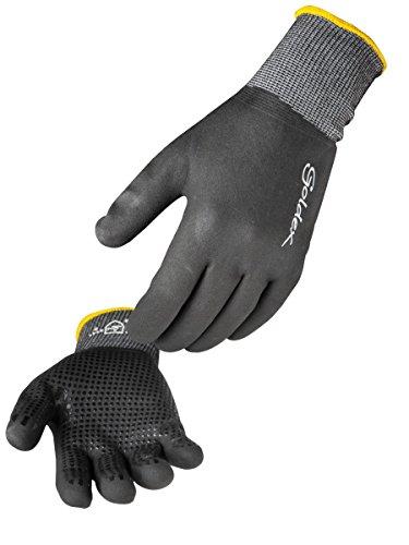 Singer - Paire de gants nitrile mousse tout enduit - Support polyamide/Elasthanne sans couture - Jauge 15 - Taille 9 - NYMFIT02