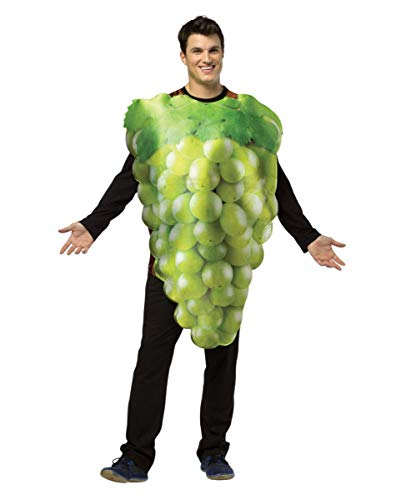 Horror-Shop Leckeres grünes Weintrauben-Rebe Kostüm für Gruppen am Faschingszug