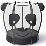 LANGXUN 5ft Panda Trampoline for Kids, 60 Inch Mini Toddler Trampoline with Enclosure Net, Indoor and Outdoor Trampoline, Birthday Gifts for Kids, Toys for Boy and Girl