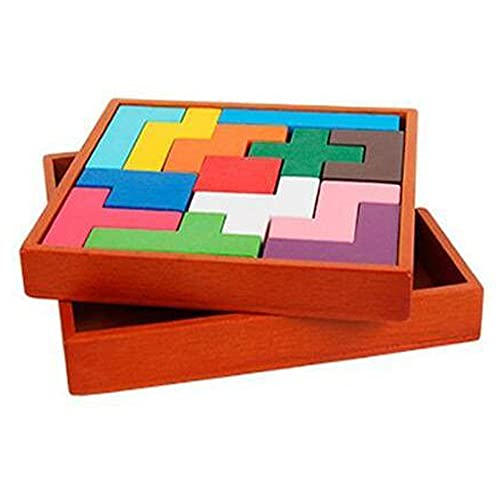 lifepower 木製パズル 木のおもちゃ 知育 大人も楽しめる 脳トレ コンパクト 知育玩具 暇つぶし 高齢者 大人も子供も 木製パズル13点セット