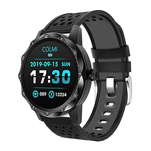 Smart Watch Fitness Tracker IP67 impermeable monitor de ritmo cardíaco Bluetooth Sport Men Smartwatch para iPhone Android (color: rojo)