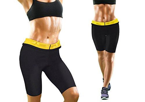 Lot de 2 pantalons de sudation Femme Noir FR : L-XL (Taille Fabricant : L-XL)
