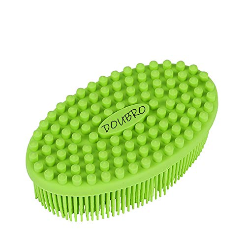DOUBRO Silicone Body Scrubber Easy to Clean, Lathers Well, Eco Friendly, Long Lasting, And More Hygienic Than Traditional Loofah For Shower Brush Dry Skin Circulation SPA,Travel.
