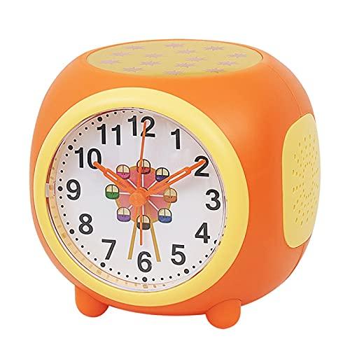 Aiong Despertador, Reloj Digital LED 7 Colores cambiantes de luz Noche Brillante Reloj de Escritorio para niños Despertador Regalo para niños