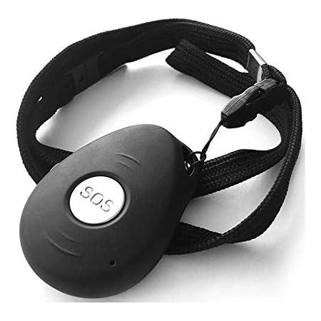Vero+ - Dispositivo di telesoccorso con Allarme Manuale con Tasto SOS, Allarme Automatico in Caso di Caduta, localizzazione satellitare, Funziona con Una Normale SIM gsm Anche Ricaricabile