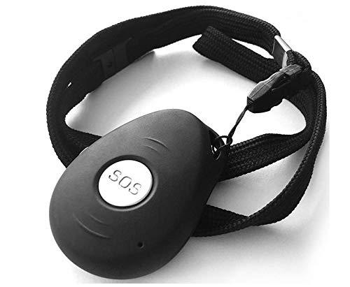 Vero+ - Dispositivo di telesoccorso con Allarme Manuale con Tasto SOS, Allarme Automatico in Caso di...