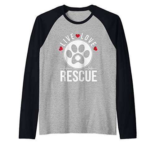 Live Love Rescue Animal Adoption Pet Manche Raglan