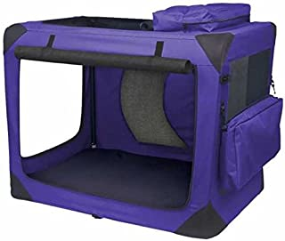 Pet Gear Generation II Deluxe Portable Soft Crate for Cats and Dogs up to 50-pounds, Light Lavender