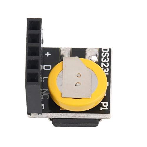 CVBN DS3231 Präzisions-RTC-Taktmodul Speichermodul für Arduino für Raspberry Pi, Schwarz