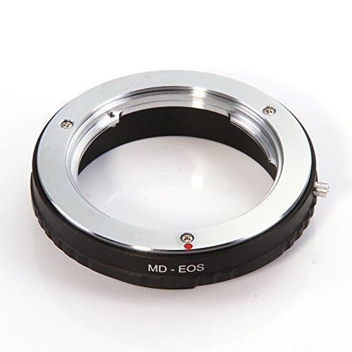 Fotga MD-EOS Lens Anello Adattatore di Montaggio per Minolta MD MC Lens per Canon EOS 7D EF 5D2 5D3 700D 750D 1200D (Senza Vetro)