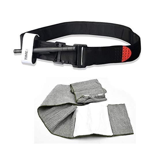 JIM'S STORE Bandage israélien Garrot Tourniquet Application Bande Bandage Extérieur Emergency First Aid Kit 6 Pouces