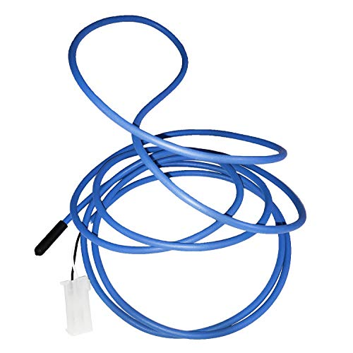 All Points F10222K 74' Blue Coil Probe Temperature Sensor Kit Replaces Traulsen 334-60406-02
