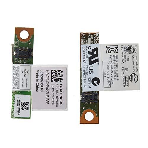 Yintiod Adaptador de tarjeta Bluetooth 4.0 para Lenovo Thinkpad X200 X220 X230 T400S T410 T420 T430 T430S T510 T520 T530 W510 W520 W530 FRU 60Y3303 60Y3 3305