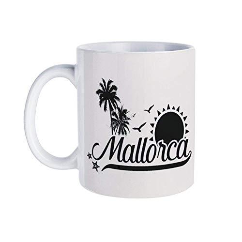 N\A Keramik Kaffeetasse Mallorca Neuheit Tee Kaffeetassen, 11OZ