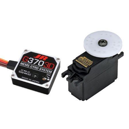 JR Radio G3703D/DS3500G Gyro/Servo Combo Pack JRPG3703DC