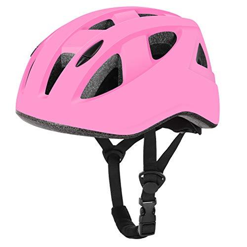 WayEee Casco Bici per Bambini Regolabile Casco Bicicletta Bambini Casco Protettivo Ideale per Bambini 4-12 Anni, Casco per Hoverboard, Scooter, Pattini, BMX e Bicicletta