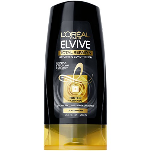 L'Oréal Paris Elvive Total Repair 5 Repairing Conditioner, 25.4 fl. oz. (Packaging May Vary)