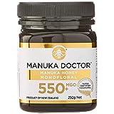 Manuka Doctor マヌカハニー MGO550+ 250g ニュージーランド産 MANUKA HONEY100% 国内正規品