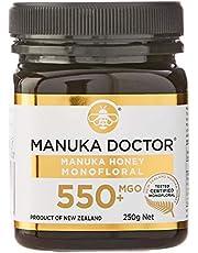 Manuka Doctor マヌカハニー 国内正規品 ニュージーランド産 MANUKA HONEY100% (mgo550, 250g)