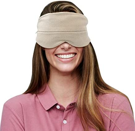 Eye Mask Activated Charcoal Insert Super adsorbent Super Soft Organic Cotton Tired Eyes Computer product image