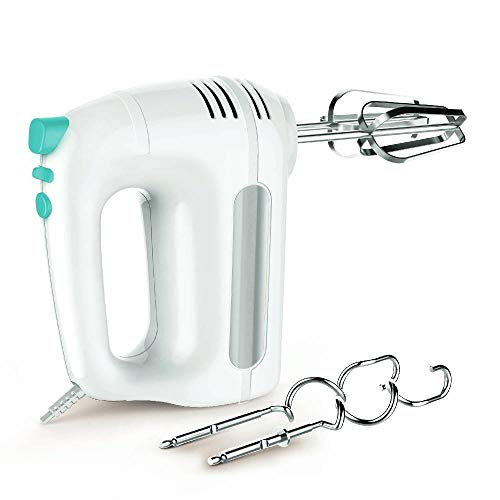 Pigeon by Stovekraft Modern Cucina Hand Mixer 300 W (White and Lagoon Green)