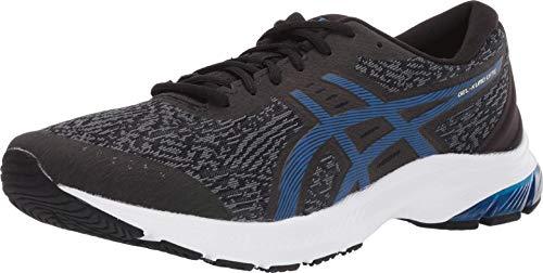 ASICS Men's Gel-Kumo Lyte (4E) Shoes, 11.5XW, Black/Tuna Blue