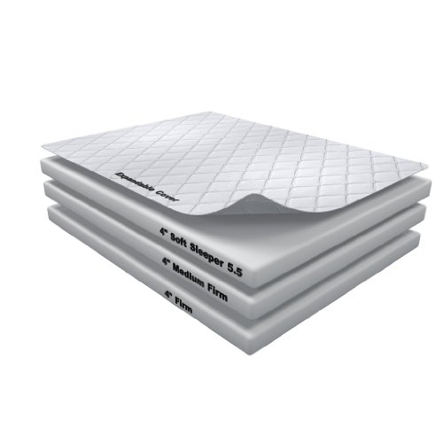 Hot Sale 12 Inch Soft Sleeper 5.5 Queen RV/Truck Mattress Bed With 4 Inches of Visco Elastic Memory Foam Assembly Required USA Made