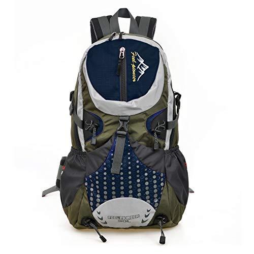 Multi-Functie Reizen Rugzak Professionele Outdoor Mountaineering Bag Waterdichte Reistas Camping Rugzak Dark blue