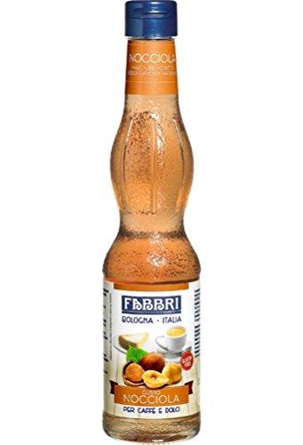 Fabbri Haselnuss Sirup 300ml Glasflasche - glutenfrei