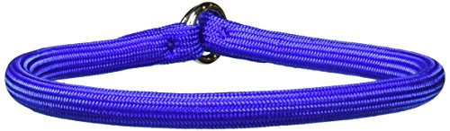 Coastal Pet Products Round Nylon Blue Choke Collar for Dogs, 3/8 By 16-inch
