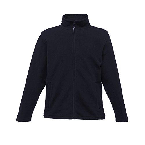 Regatta Herren Mikrofleece-Jacke mit durchgehendem Reißverschluss (L) (Dunkelblau)