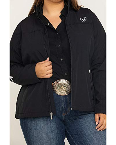Ariat New Team Softshell Jacket – Women's Wind and Water Resistant Jacket