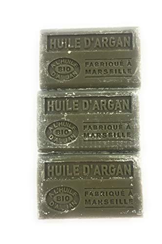 Label Provence Marseille bio-zeep met arganolie, 3 stuks