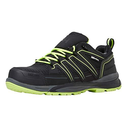 Helly Hansen Workwear x, Zapato de construcción Unisex Adulto, Schwarz Gelb, 38 EU