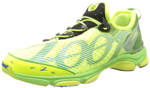 Zoot Men's Ultra Tempo 6.0 Running Shoe,Safety Yellow/Green Flash/Black,9 M US